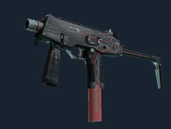 StatTrak™ MP9   Capillary (Well-Worn)