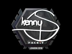 Sticker | kennyS | London 2018