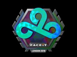 Sticker | Cloud9 (Holo) | London 2018