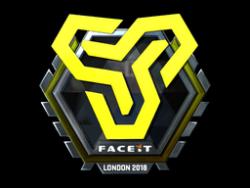 Sticker | Space Soldiers (Foil) | London 2018