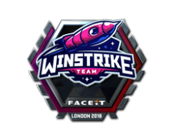 Sticker | Winstrike Team (Foil) | London 2018