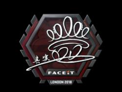 Sticker | DD | London 2018