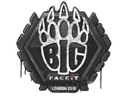 Sealed Graffiti | BIG | London 2018