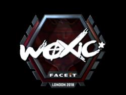 Sticker | woxic (Foil) | London 2018