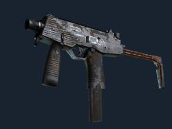Souvenir MP9 | Slide (Battle-Scarred)