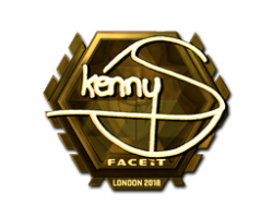 Sticker   kennyS (Gold)   London 2018