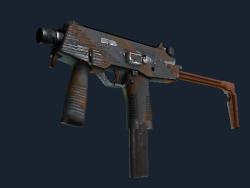 Souvenir MP9 | Slide (Well-Worn)
