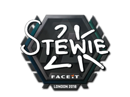 Sticker | Stewie2K | London 2018