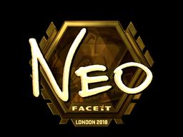 印花 | NEO(金色)| 2018年伦敦锦标赛