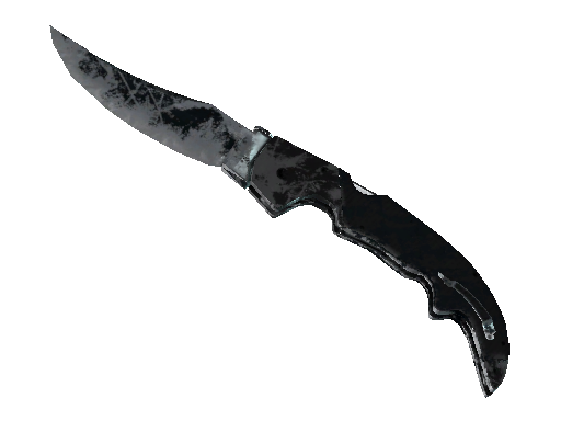★ Falchion Knife | Night (Battle-Scarred)