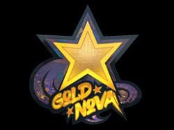 Sticker | Gold Nova (Holo)