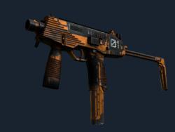 StatTrak™ MP9   Modest Threat (Battle-Scarred)