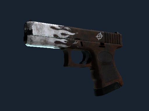 Glock-18   Oxide Blaze (Well-Worn)