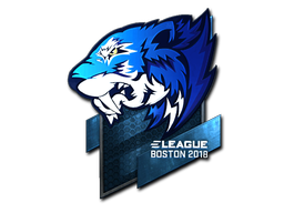 Sticker | Flash Gaming (Foil) | Boston 2018