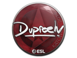 Sticker | dupreeh | Katowice 2019