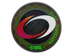 Sticker | compLexity Gaming (Holo) | Katowice 2019