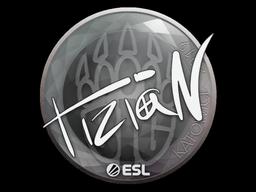 Sticker   tiziaN   Katowice 2019