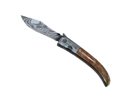 ★ Navaja Knife | Damascus Steel (Field-Tested)