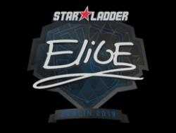 印花 | EliGE | 2019年柏林锦标赛