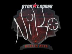 Sticker   NiKo   Berlin 2019