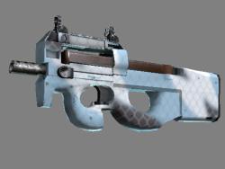 Souvenir P90   Glacier Mesh (Minimal Wear)