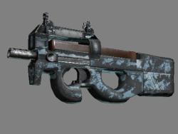 P90(纪念品) | 冰川网格 (战痕累累)