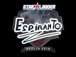 Sticker   EspiranTo (Foil)   Berlin 2019