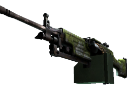 StatTrak™ M249 | Aztec (Field-Tested)