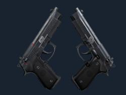 StatTrak™ Dual Berettas   Elite 1.6 (Factory New)