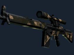 G3SG1 | Black Sand (Battle-Scarred)