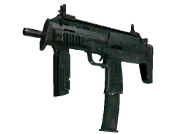 MP7 | Teal Blossom (Field-Tested)
