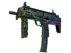 StatTrak™ MP7 | Neon Ply (Field-Tested)
