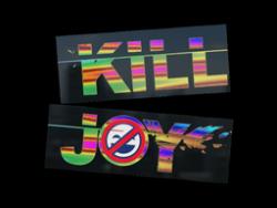 Sticker   Killjoy (Holo)