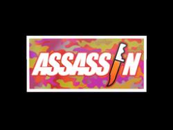 Sticker   Assassin (Holo)