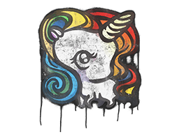 Sealed Graffiti | Unicorn