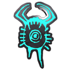 Headcrab Glyph Pin