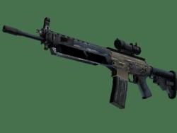 SG 553 | Tornado (Battle-Scarred)