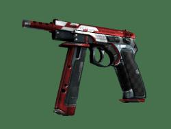 StatTrak™ CZ75-Auto | Red Astor (Well-Worn)