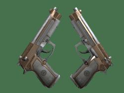 Dual Berettas   Cartel (Field-Tested)