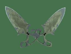 ★ Shadow Daggers | Safari Mesh (Battle-Scarred)