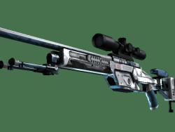 StatTrak™ SSG 08 | Ghost Crusader (Well-Worn)