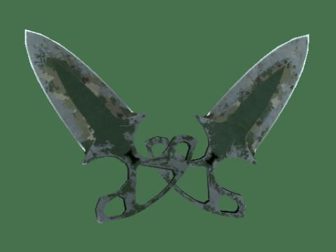 暗影双匕(★) | 森林 DDPAT (战痕累累)