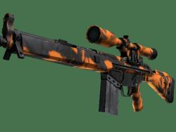 StatTrak™ G3SG1 | Orange Crash (Minimal Wear)