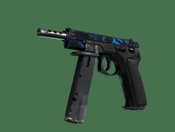 StatTrak™ CZ75-Auto | Poison Dart (Well-Worn)