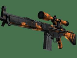 G3SG1   Orange Crash (Well-Worn)