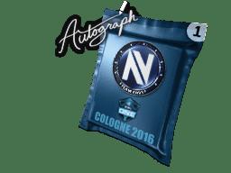 亲笔签名胶囊 | Team EnVyUs | 2016年科隆锦标赛