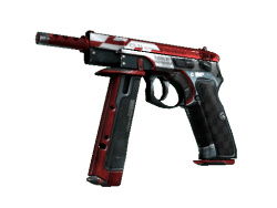 CZ75-Auto | Red Astor (Field-Tested)