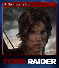 203160-A Survivor Is Born (Trading Card)
