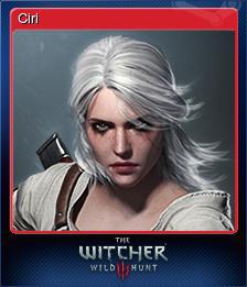 292030-Ciri (Trading Card)