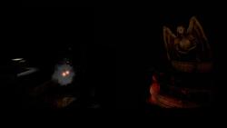 539350- Statue in the dark